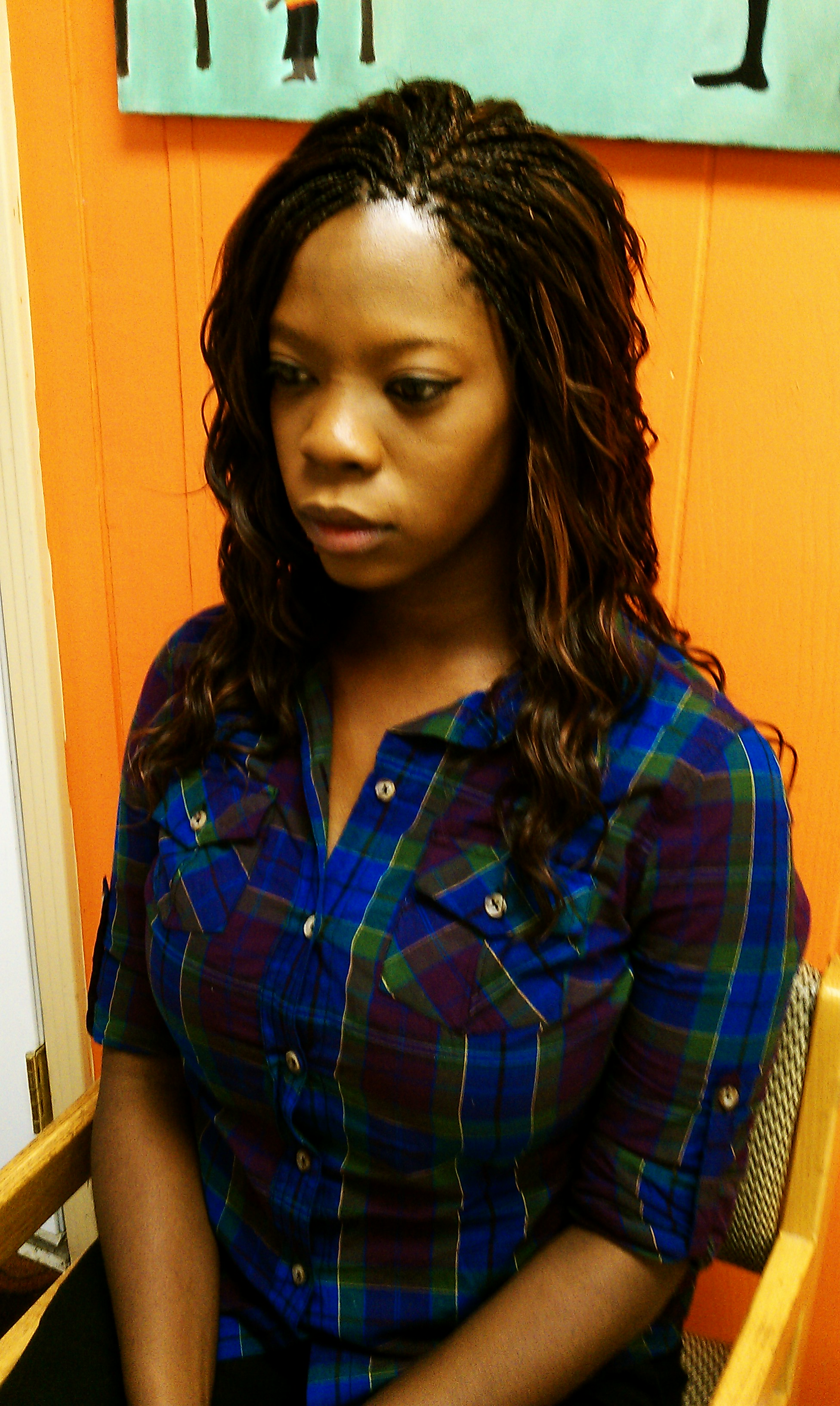 Half Micros Half Sew In Short Hairstyle 2013